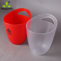 Freies Plastikacryl oder PS passen Farben-und Firmenzeichen-Plastikeis-Wanne an
