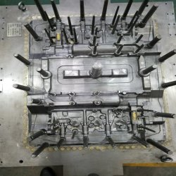 Автоматическая линия для литья под давлением литой детали пресс-формы с блока цилиндров для автомобилей