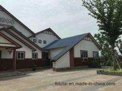 6 mm Außenansicht Holzregnsieder Wandverkleidung Stahlbauhaus
