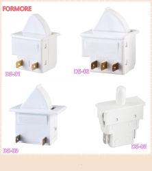 El modificador /de la puerta de refrigerador en el modificador /apagado/interruptor pulsador para frigorífico