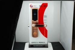Materiale ed argento in lega di zinco/scheda rivestimento/dorata CI e serratura di portello magnetica dell'hotel dello Smart Card con il sistema