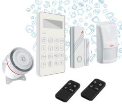 نظام تنبيه SMS SMS مصغر مع شاشة LCD