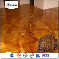 普及した青いコンクリートの染料および汚れの粉