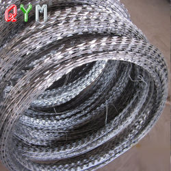Lâmina de aço de tipo de material do fio-acordeão fio navalha