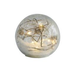 Стеклянный шарик фонари с ветвей праздник интерьер