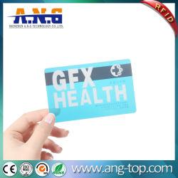 Freie kundenspezifische gedruckte Karten Belüftung-transparente Visitenkarten