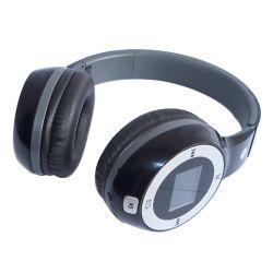 Bluetooth Kopfhörer-Kopfhörer mit Spiel LCD-Bildschirmanzeige-Unterstützungs-Ableiter-Card/FM/MP3