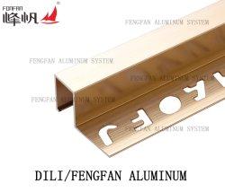 Angle de fraisage en aluminium autoadhésif Accessoires de revêtement de sol Planchers laminés Edge
