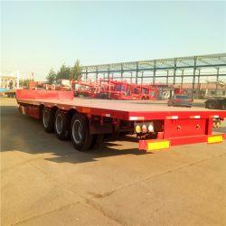Het Verschepen van Chengda 40FT Vervoer 3 van de Container Flatbed Semi Aanhangwagen van de As voor Verkoop