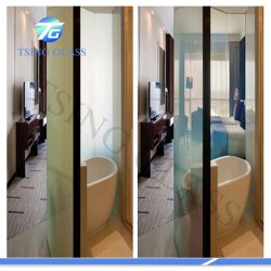 Liquid Crystal Switchable Building Decorative Window Laminated Smart Intelligent Privacy Glass
