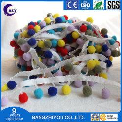 Dongcai Hand-Made Bola de cabelo cor especial Lace DIY saia de renda do pêndulo acessórios de vestuário
