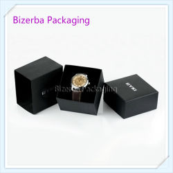 Impressão em preto personalizados promocionais papelão papel rígido artesanais de Embalagem para assistir