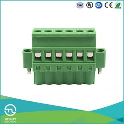 Ma2.5/Vrf5.0 (5.08の)ピッチのプラスチックコンダクターのケーブルコネクタ