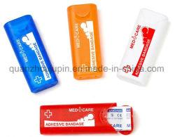 El logotipo del fabricante de vendaje adhesivo plástico caja para regalo promocional