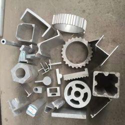 4 pouces de 6061 6063 J Section Extrusion profiles en aluminium pour la décoration