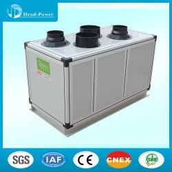 55kw tipo placa de intercambiador de calor total de la unidad de manejo de aire fresco