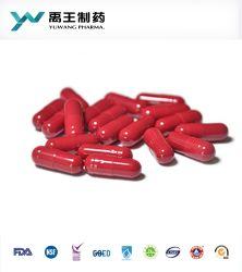 カラー証明される堅いゼラチンカプセルの中国の製造者GMP/FDA