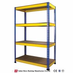 Armazenamento do armazém de serviço leve industrial Palete de aço estantes de rebite Boltless