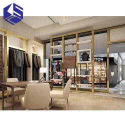 Ksl sistema único e moderno mobiliário de decoração de varejo loja de roupas Rack para exibição Mall