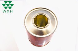 1L PINTURA pode endurecedor latas podem com o parafuso plástico da tampa superior