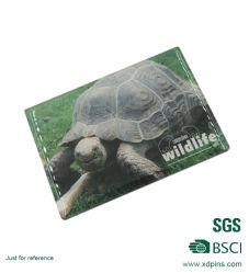 Promotion Drucken Magnetische Visitenkarte Aufkleber Souvenir Kühlschrank Magnet
