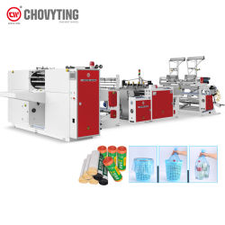 Walzen-Abfall-Abfall-Beutel, der Maschine für T-Shirt und flache Beutel herstellt