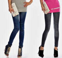 Gedrukte Jeans Leggings (JN-02)