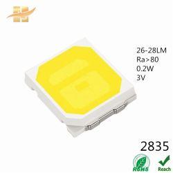 Высокое качество 3V 9V 0.1W 0,2 Вт 0,5 Вт 60LM 75LM 1W белого цвета 2835 SMD Epistar LED Chip