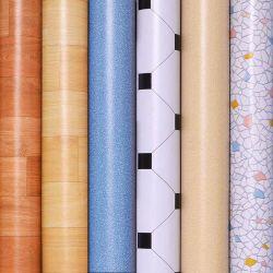 Rolos de vinil esponja espessura 1,8 mm à prova de pavimentos Barato preço espuma de PVC piso de carpete