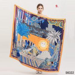 Digital gedruckter reiner 100% Seide-Schal für Form-Damen