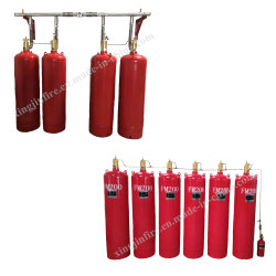 Sistema di soppressione specializzato del fuoco del gas della conduttura FM200