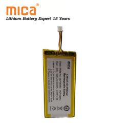 IEC62133 CB 103450 APROBADO Lipo Mlp383883 Batería 1800mAh 3.7V 1800mAh Batería de polímero de litio 6.66WH