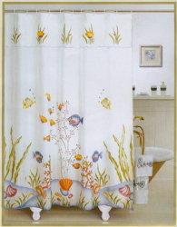 印刷されたシャワー・カーテン