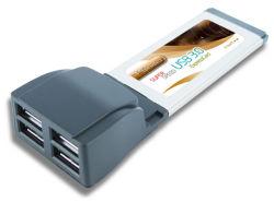 4-Ports USB 3.0 Expresscard-Renesas