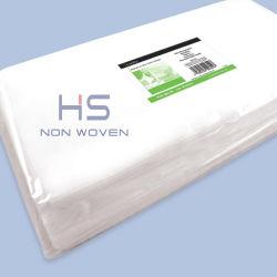 White biodegradável suave toalhas descartáveis