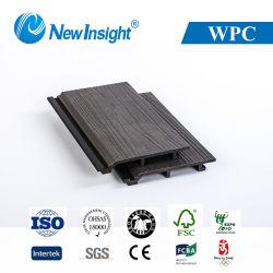 168X23mm WPC 벽면 WPC Decking Decking 목제 플라스틱 합성물