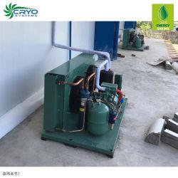 Quarto de refrigeração das máquinas de armazenamento a frio para frutas frescas a armazenagem a frio Sala Fria de refrigeração dispara recipiente congelador