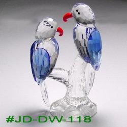 Oiseau de cristal de l'artisanat cadeau de noces (JD-DW-119)