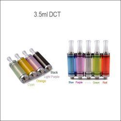 3,5 ml & 6.0ml 510 Dct Cartomizer Clearomizer / avec coloré pour E cigarette