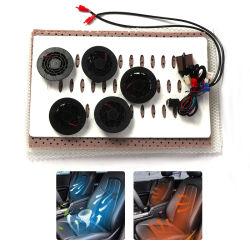 Neue Entwurfs-Auto-Sitzventilations-Kühlvorrichtung mit 5 Ventilatoren und Legierungs-Draht-Heizsystem