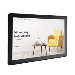 """Fábrica direto 15.6"""" de 16 polegadas para montagem em parede quad core RK3188 8GB barato WiFi Android publicidade LCD exibir com USB CONECTOR RJ45"""