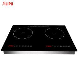 Construit en 2 brûleurs 120V 110V Table de cuisson à induction de la FCC ETL