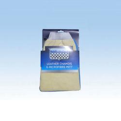 2 en 1 Gants en cuir microfibre pure (CN3281)