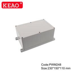 Wme248 230 * 150 * 110mm 벽면 마운트 인클로저 실외 방수 인클로저 IP65 플라스틱 터미널 방수상자가 있는 정션 박스