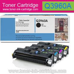Cartouche de toner couleur pour HP Q3960A, Q3961A, Q3962A, Q3963a