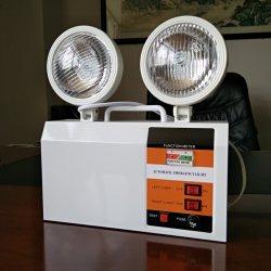 LED recarregáveis de Emergência de ferro boa qualidade Cabeça Twin Lamp