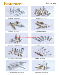 Anchor/Standard/fixations Fixations non standard /Special Fasteners