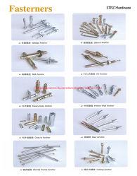 アンカーまたは締める物の/Specialの標準締める物または標準外締める物