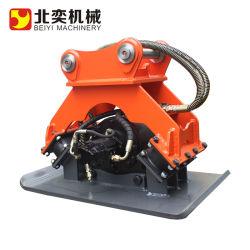 Compattatore vibrante idraulico montato su escavatore di alta qualità per piastre di terreno Compattatore