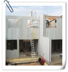 Panel prefabricado de impermeabilización de cubiertas de fibrocemento con certificación de la hoja exterior de material de construcción materiales de aislamiento